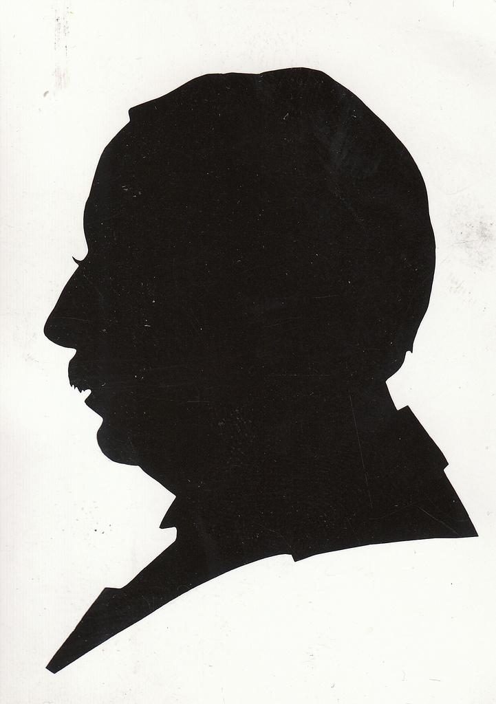 Portrait Silhouette (Scherenschnitte